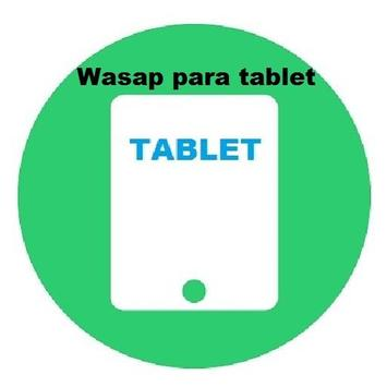 Instala Whasap para tablet poster
