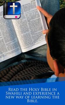 Swahili Bible apk screenshot