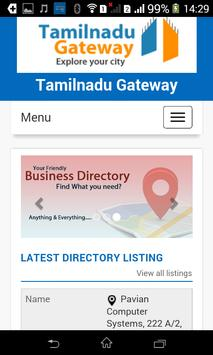 Tamilnadu Gateway apk screenshot