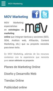 MOV Marketing apk screenshot
