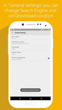 Suma Browser apk screenshot