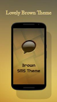 Brown Theme for Suma SMS poster