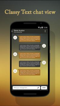 Gold Theme for Suma SMS apk screenshot