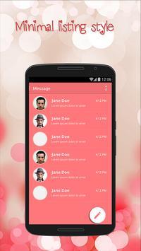 Pink Theme for Suma SMS apk screenshot