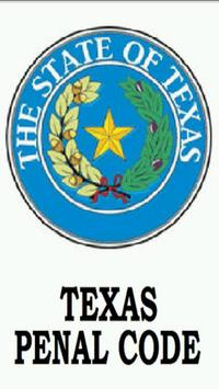 Texas Penal Code FREE poster