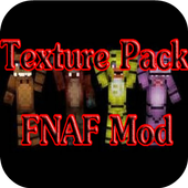 Texture Pack FNAF for MCPE icon