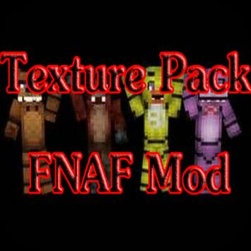 Texture Pack FNAF for MCPE poster