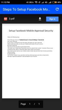 Hacks and Tricks for Facebook apk screenshot