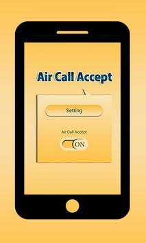 Air Call Accept poster