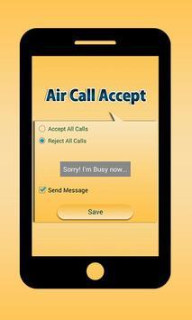 Air Call Accept apk screenshot