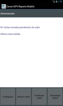 GPV Reports para Canon apk screenshot