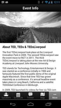 TEDxLiverpool apk screenshot