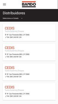 BANDO Catálogo de Productos apk screenshot