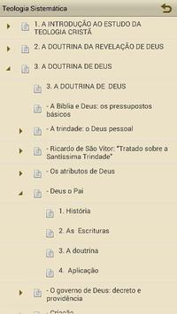 Teologia Sistemática apk screenshot