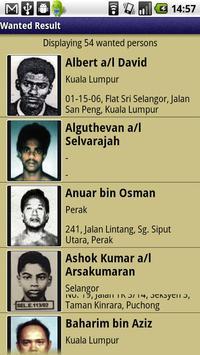 Malaysia Most Wanted apk screenshot