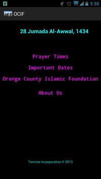 Orange County Islamic poster
