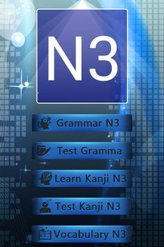 Test Grammar N3 Japanese apk screenshot