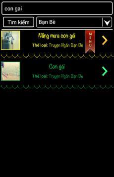 Tuyen Tap Truyen Ngan Hay Nhat apk screenshot