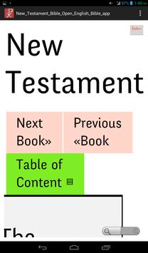 New Testament Holy Bible App apk screenshot