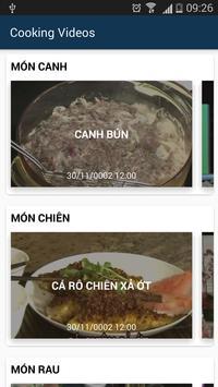 Video Dạy Nấu Ăn poster