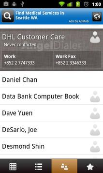 Angel Dialer (Free) apk screenshot