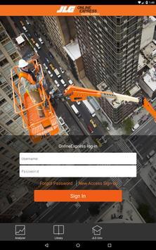 JLG Online Express Mobile apk screenshot
