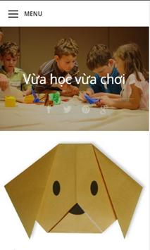 Nghệ Thuật Xếp Giấy Origami apk screenshot