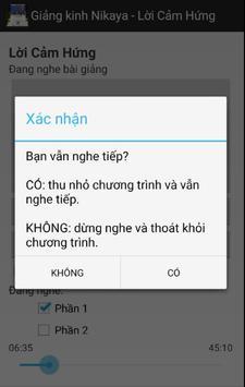 Nikaya 18 - Lời Cảm Hứng apk screenshot