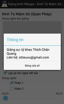 Nikaya 14 - Niệm Xứ(Quán Pháp) apk screenshot