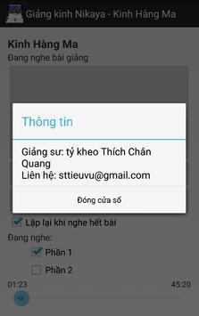 Nikaya 3 - Kinh Hàng Ma apk screenshot