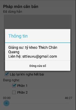 Nikaya 2 - Pháp Môn Căn Bản apk screenshot
