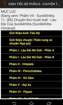 Nikaya - Tiểu Bộ 6 -Thiên Cung apk screenshot