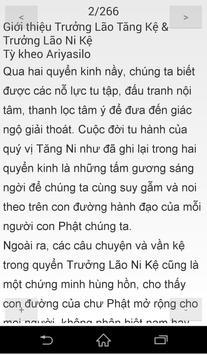 Nikaya - Tiểu Bộ 8 - TLTăng Kệ apk screenshot