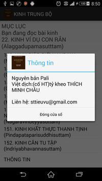 Nikaya - Kinh Trung Bộ apk screenshot