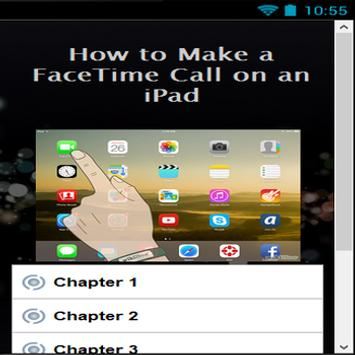 How to Make a FaceTime Call apk screenshot