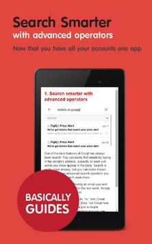Tips for Gmail on Android poster