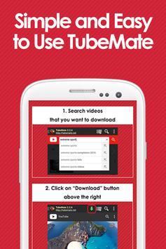 Guide for TubeMate YT DL apk screenshot