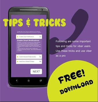 Free Viber Tips Tricks! poster