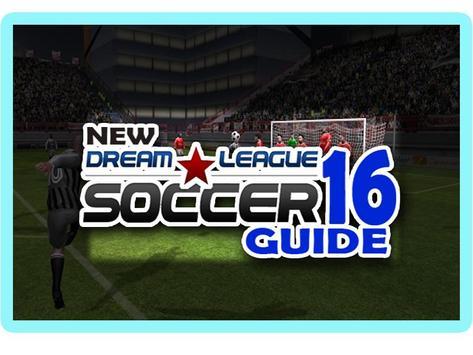 dream league soccer 2016 tips poster