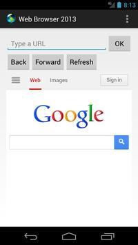 Web Browser 2013 Lite poster