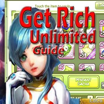 Key Tips LINE Let's Get Rich poster