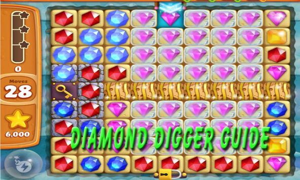 Guide of Diamond Digger APK poster
