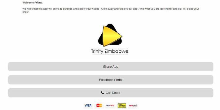 trinityzimbabwe apk screenshot