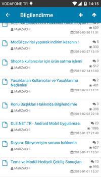 DLE.NET.TR Mobil apk screenshot