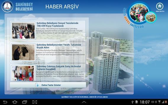 Şahinbey Belediyesi apk screenshot