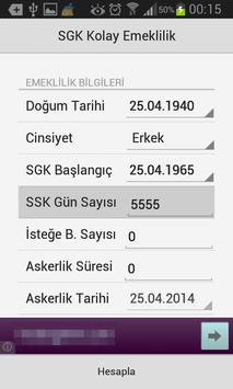 Ne Zaman Emekli Olabilirim-SGK apk screenshot
