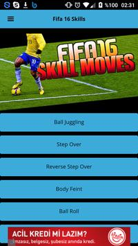 Trick & Skill Moves for FIFA16 poster
