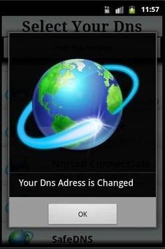 Change Dns apk screenshot