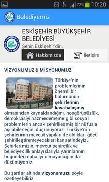 Eskişehir B. Belediyesi apk screenshot