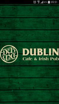 Dublin Cafe poster